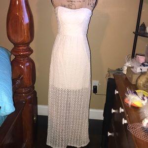 Nice Lace Maxi Dress Never Worn